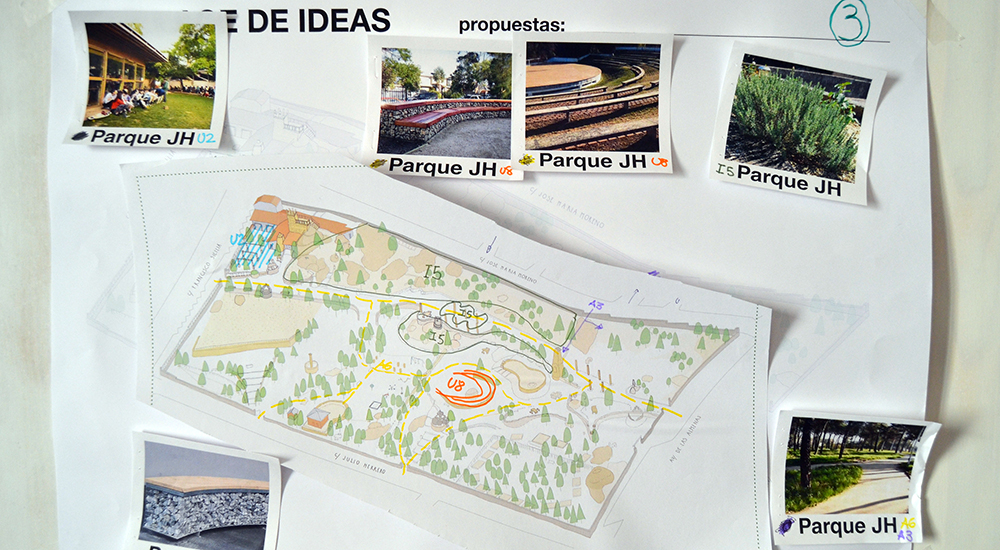 Parque JH Collage de Ideas